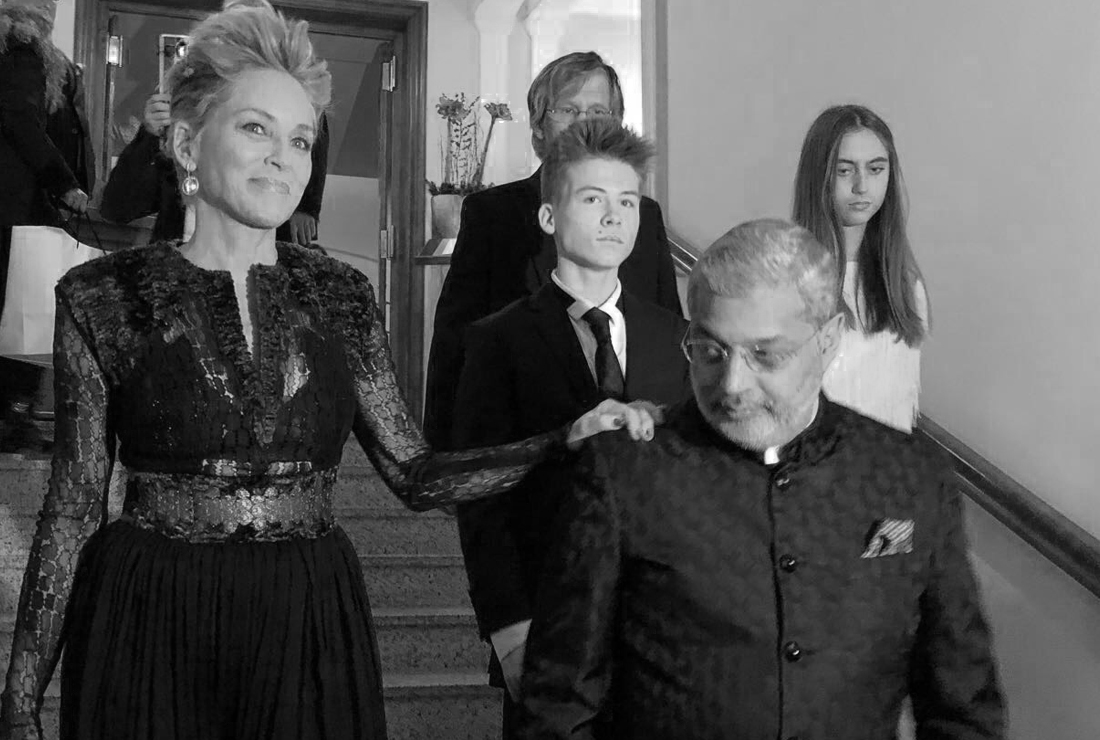 Sharon Stone at The St Moritz Soul Gala