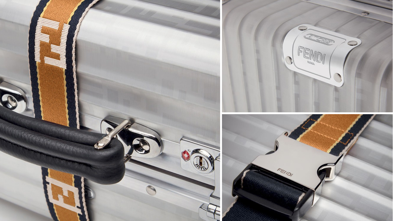 c7502b8d4005 The suitcase is the grand finale of this year s 80th Anniversary of RIMOWA s  aluminum luggage.