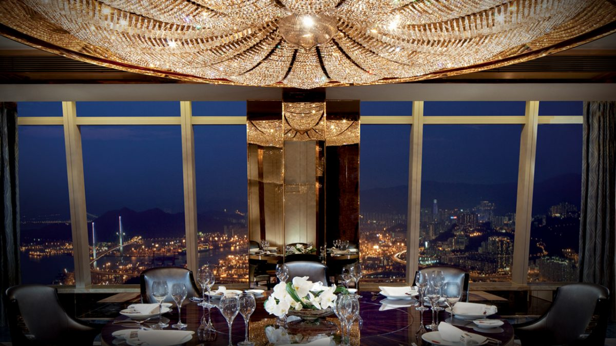 Almost 500 meters above the ground: The Ritz-Carlton, Hong Kong – Stellar Living