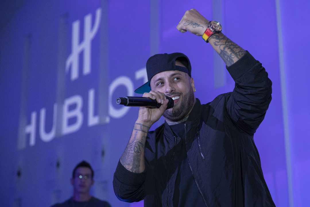 A new HUBLOT BIG BANG in the colours of Nicky Jam