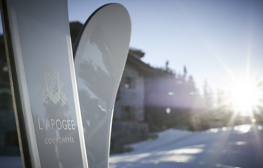 L'Apogée: Courchevel 1850, is as close to heaven as you can get #BBSkiingSeason