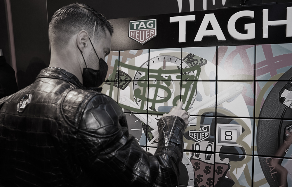 When Art meets time: TAG Heuer celebrates the launch of two new editions with Alec Monopoly