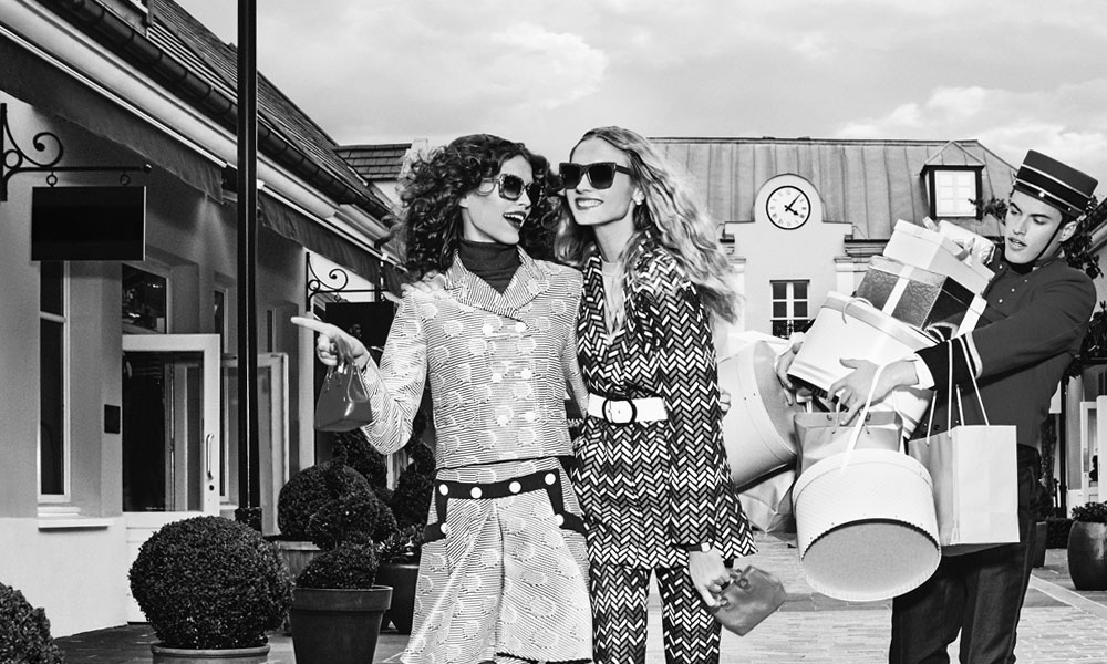 Art Meets Fashion at Bicester Village