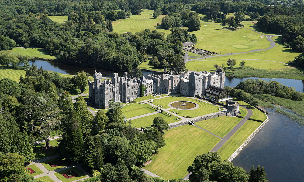 Your Royal adventure at remarkable 800-year-old Ashford Castle