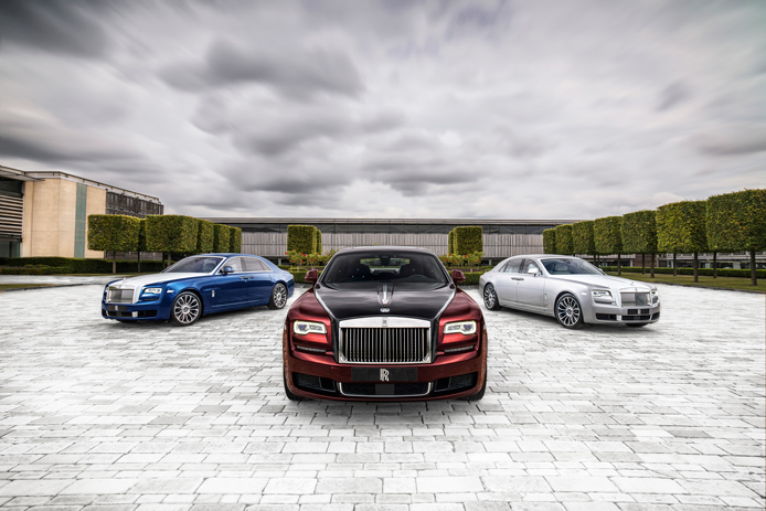 Introducing The Rolls-Royce Ghost Zenith