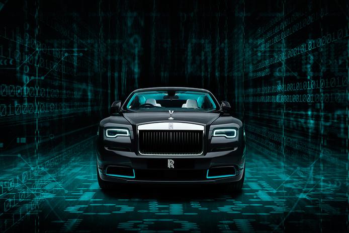 The Rolls-Royce Wraith Kryptos Collection